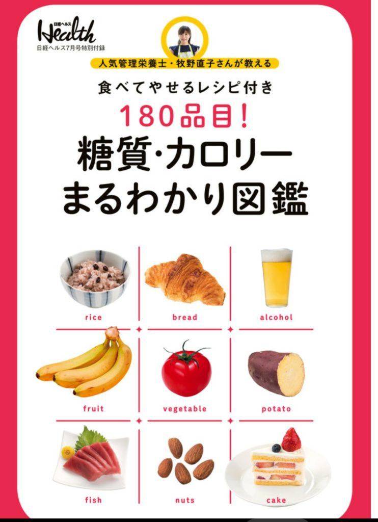 『日経ヘルス』2018.8月号付録